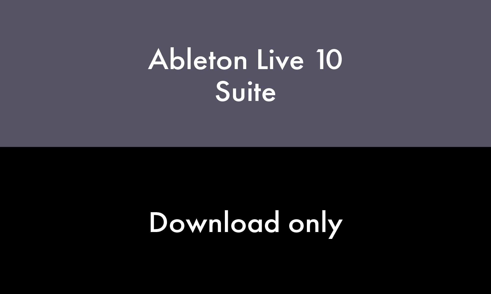 Live 10 Suite EDU CN (DL)