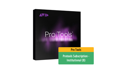 Protools Subscription - Institutional (B)