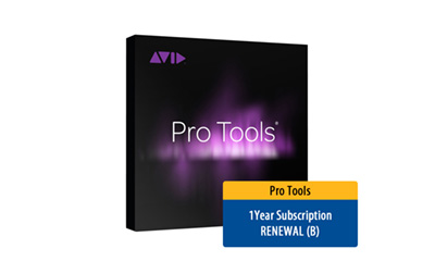 Pro Tools 1Y Subscription RENEWAL (B)