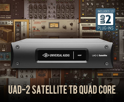 UAD-2 Satellite TB QUAD Core