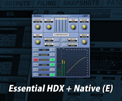 Sonnox Essential HDX + Native (E)