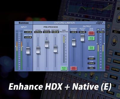 Sonnox Enhance HDX + Native (E)