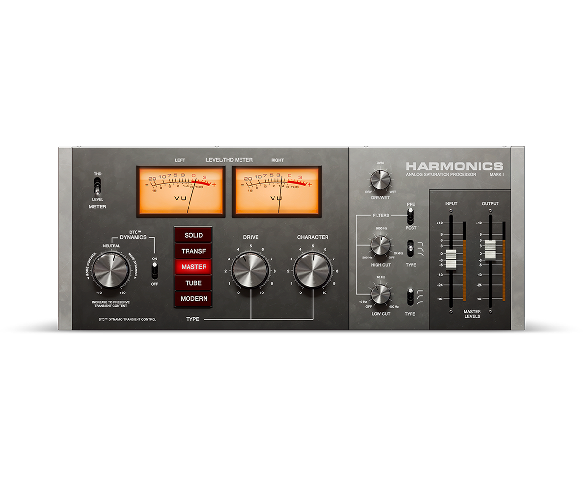 Harmonics Analog Saturation Processor