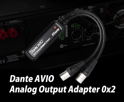 Dante AVIO Analog Output Adapter 0x2
