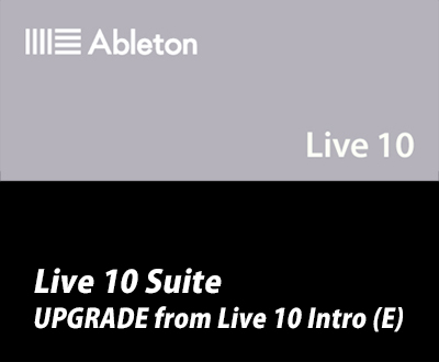 Live 10 Suite UPG from Live 10 Intro (E)