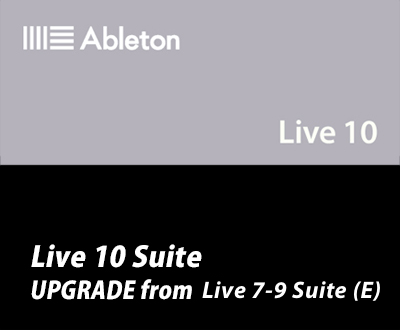 Live 10 Suite UPG from Live 7-9 Suite (E)