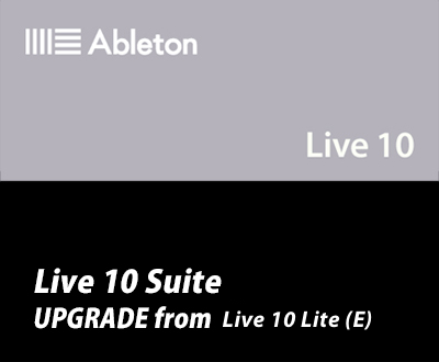 Live 10 Suite UPG from Live 10 Lite (E)