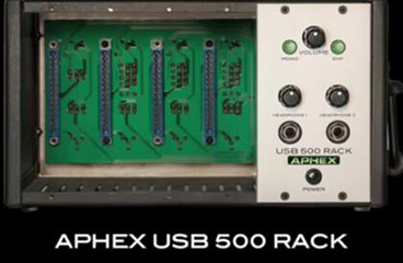 Aphex USB 500 Rack简介